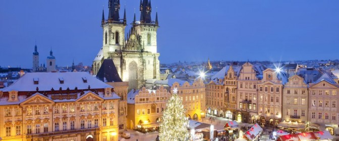 MINIVACANTA de 1 DECEMBRIE 2017 la PRAGA  de la 329 euro  – oferta expirata