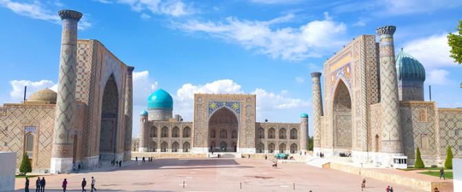 CIRCUIT 2018-2019 Uzbekistan de la 1095 euro
