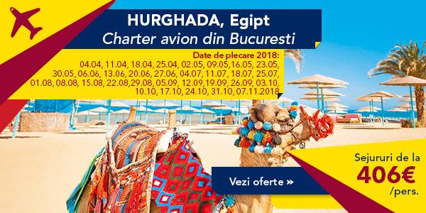 SEJUR 2018 EGIPT – HURGHADA  de la 406 euro