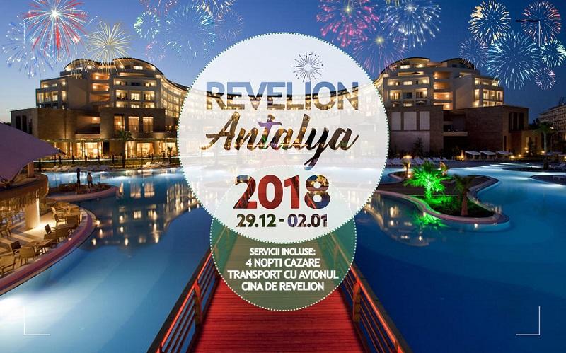 REVELION 2018 ANTALYA – last minute – de la 434 euro taxe incluse