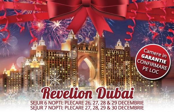 REVELION 2019 DUBAI de la 828 euro